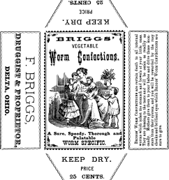 vintage apothecary label confections oh so nifty vintage graphics [ 1719 x 1988 Pixel ]