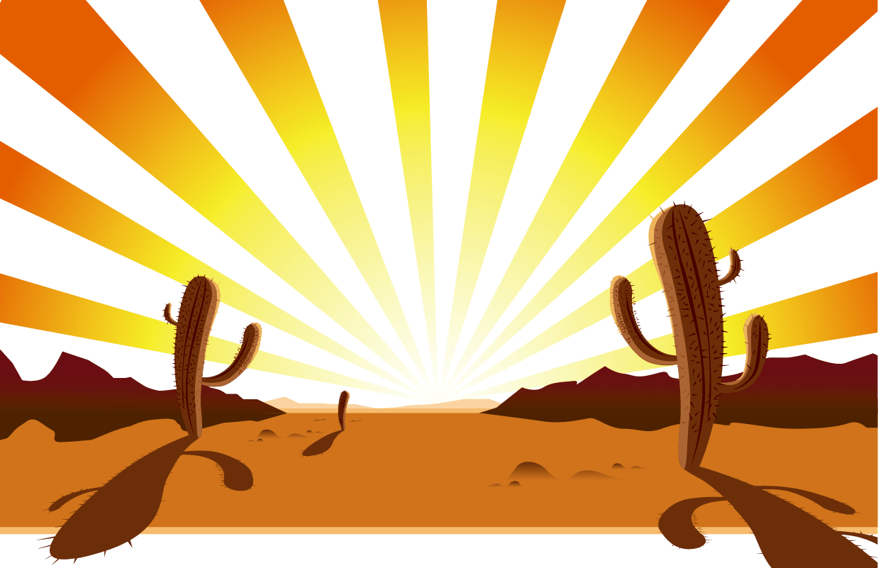 hight resolution of canyon vector cartoon