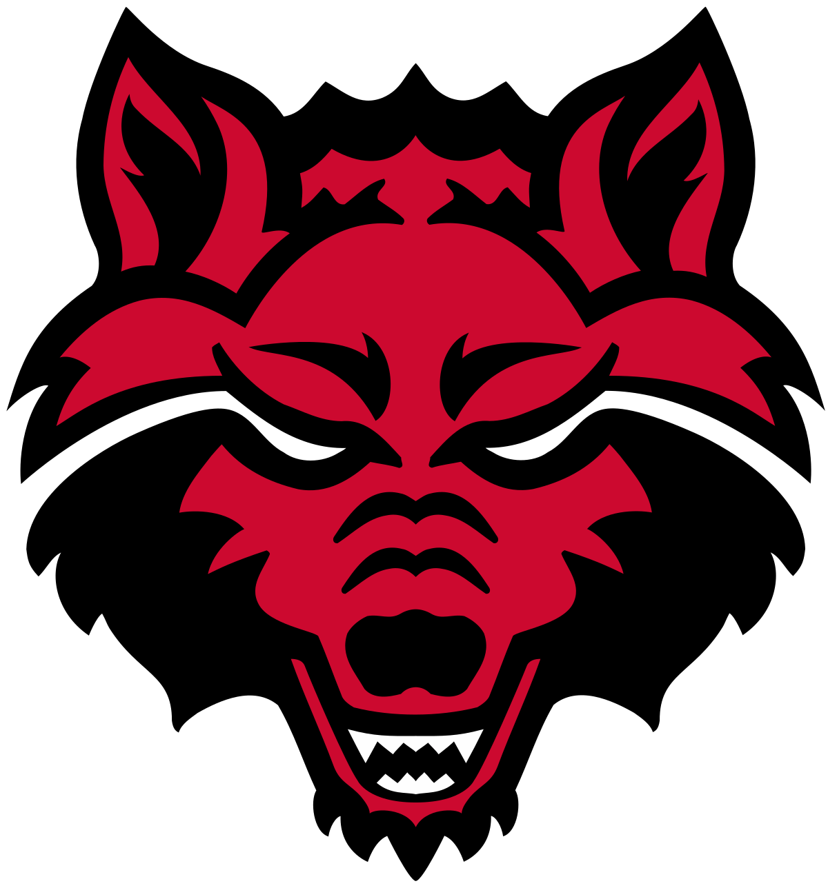 hight resolution of arkansas svg red state wolves wikipedia