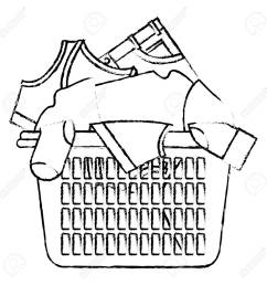 basket clipart laundry basket drawing at getdrawings com [ 1300 x 1300 Pixel ]