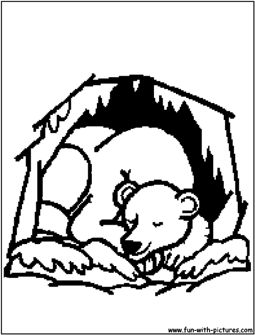 small resolution of unsurpassed hibernating bear coloring page bears clipart images