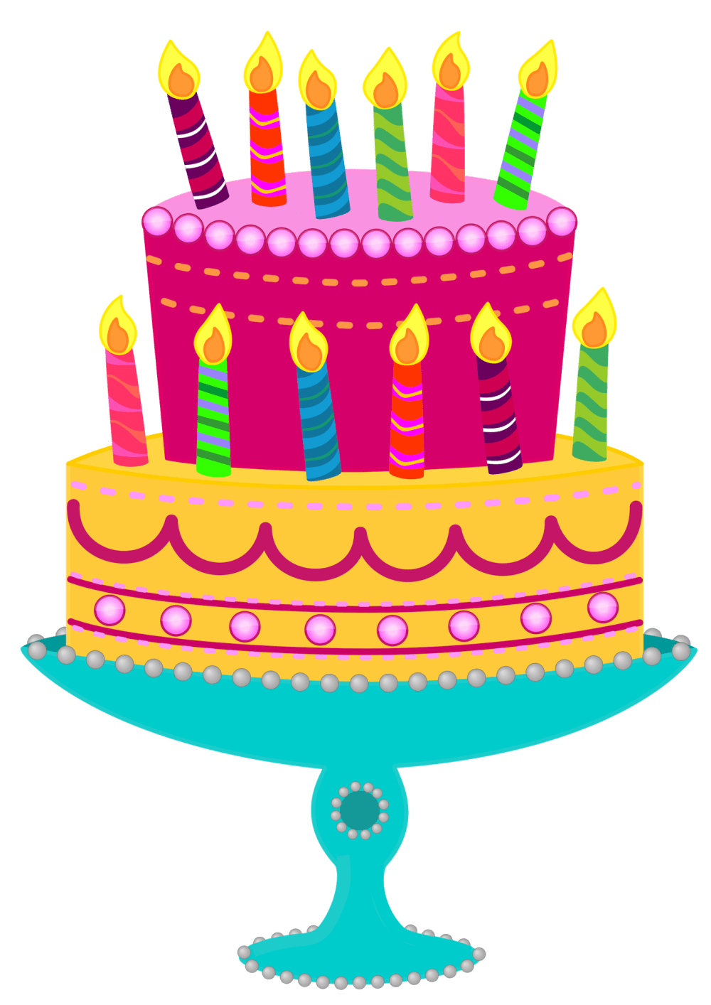 medium resolution of bing clipart birthday cake free picture of cakes
