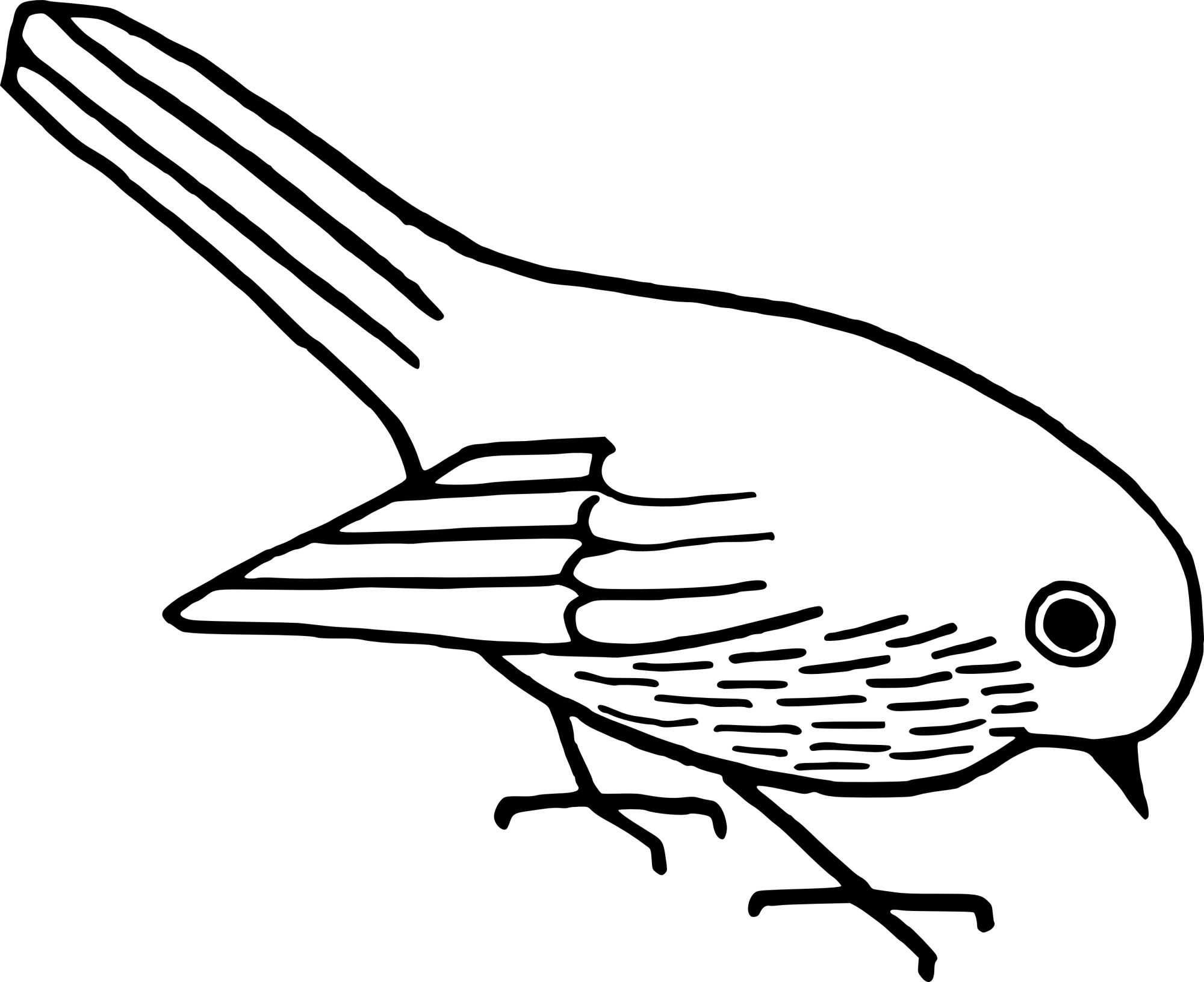 hight resolution of bird clip art line drawing at getdrawings com free