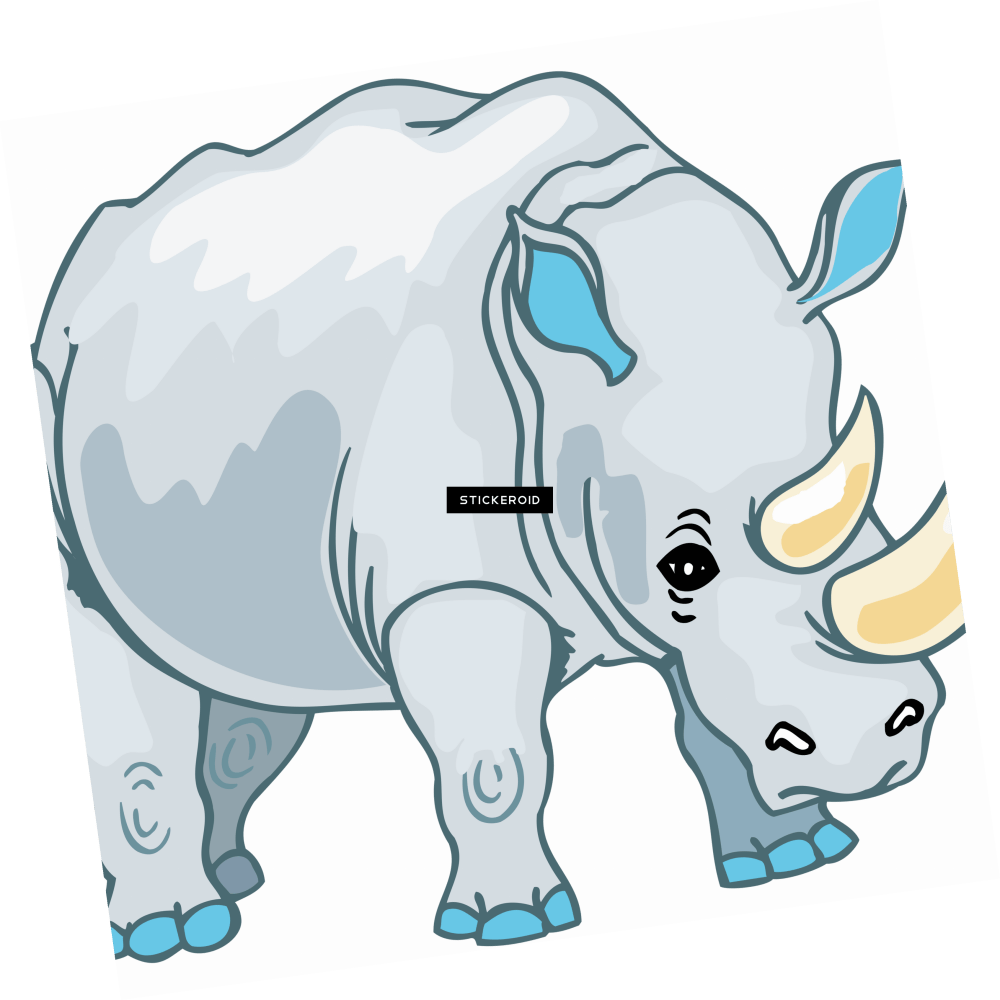 medium resolution of brown clipart rhino png cartoon