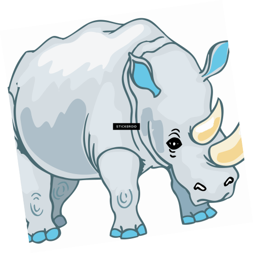 small resolution of brown clipart rhino png cartoon