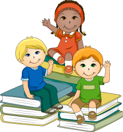 cartoon child doing school work png kids learning clipart image [ 1514 x 1600 Pixel ]