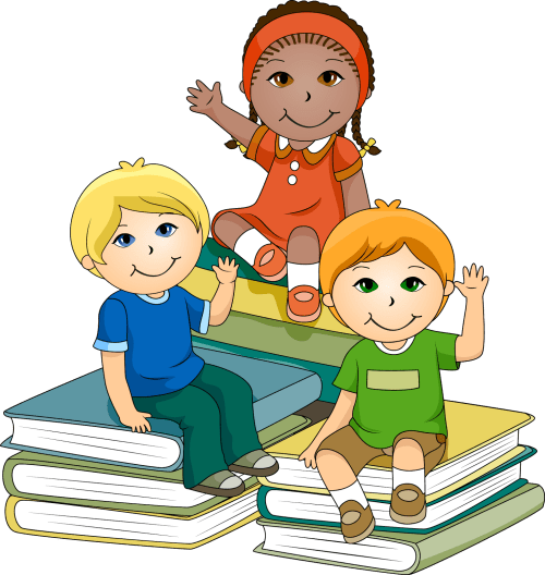 small resolution of cartoon child doing school work png kids learning clipart image