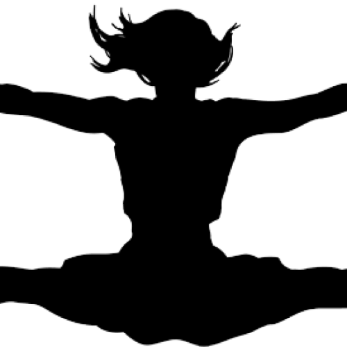 small resolution of cheerleader clipart personal silhouette images gallery for