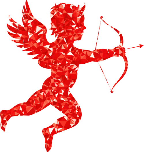 small resolution of cupid clipart red ruby martin silhouette big