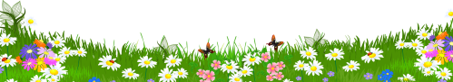 small resolution of daisy clipart landscape grass ground with flowers