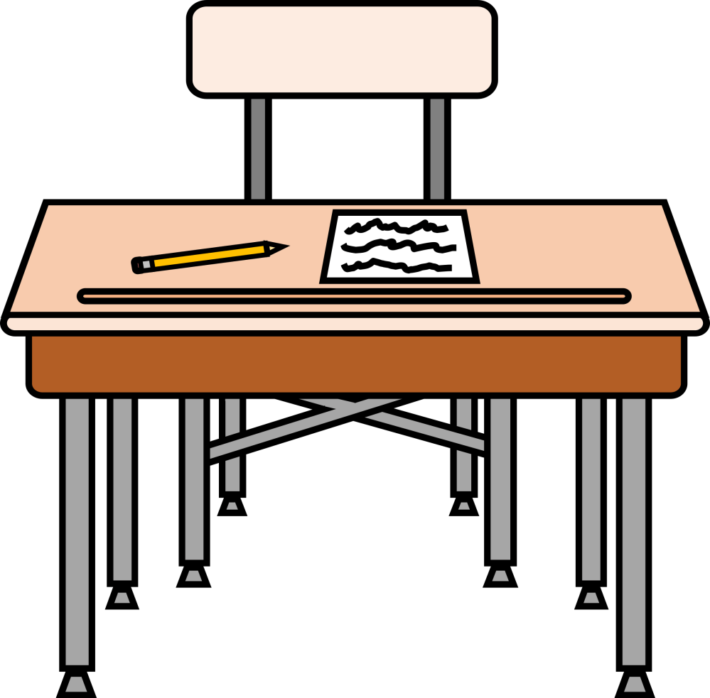 medium resolution of desk clipart elementary school empty seat with a