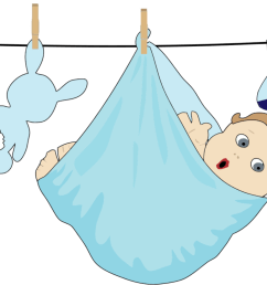 diaper clipart baby girl infant boy child computer [ 2345 x 750 Pixel ]