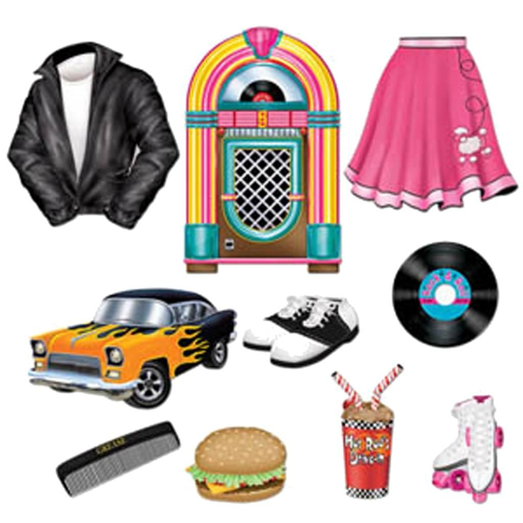 hight resolution of 50s soda shop diner jukebox grease cutouts diner rock n roll party