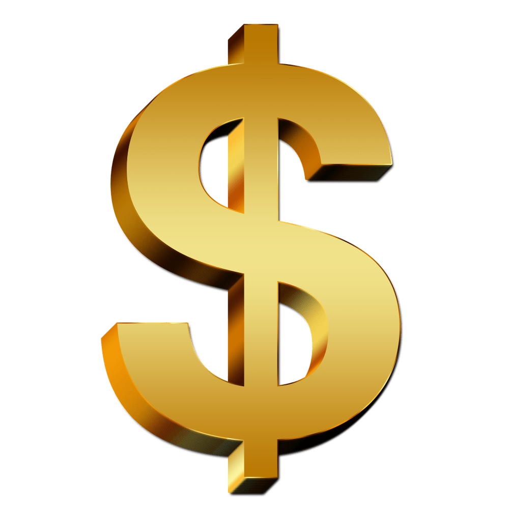 medium resolution of money signs png gold images transparent free