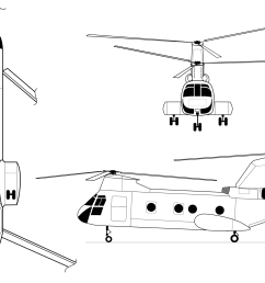 drawing helicopters rotorcraft file ch line svg [ 2000 x 1265 Pixel ]