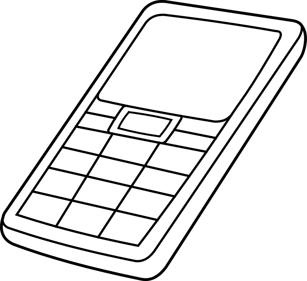 medium resolution of drawing phone outline collection of mobile