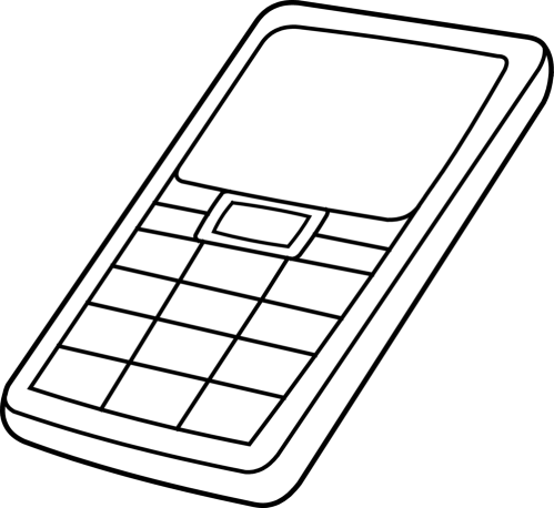 small resolution of drawing phone outline collection of mobile