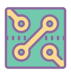 circuits vector chip wire circuit png icon this [ 1600 x 1600 Pixel ]