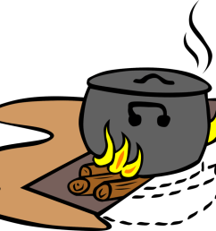 cooking clipart hot food outdoor cooked rice chef [ 1059 x 750 Pixel ]
