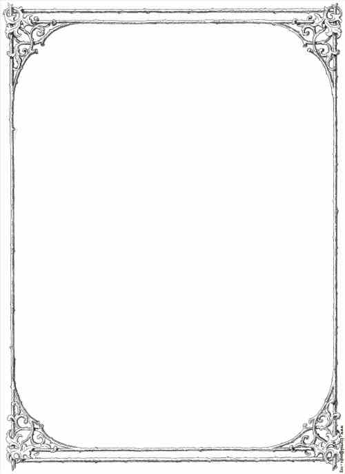small resolution of frame clipart victorian border of twigs and