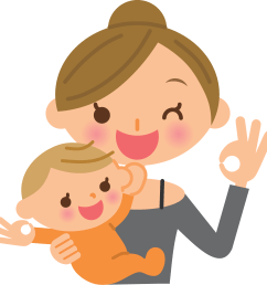 free mothers clipart mom toddler mother s day png [ 2483 x 2528 Pixel ]