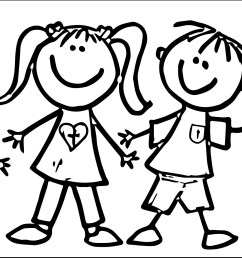 new friends clipart black and white design digital clipart collection [ 2506 x 1204 Pixel ]