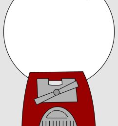 gumball machine clipart 100 day the best thday images [ 736 x 1104 Pixel ]