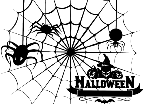 small resolution of halloween spider web png spiderweb stencil icons free