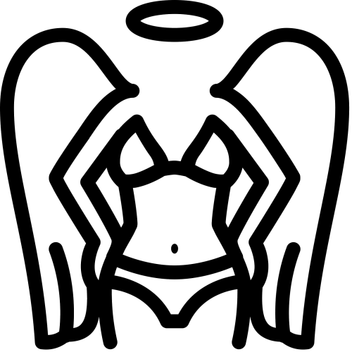 small resolution of vector secret victoria angel icon free