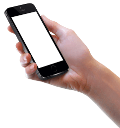 holding phone png hand black iphone image [ 1296 x 1398 Pixel ]