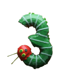 very hungry caterpillar png the number cake transparent [ 1080 x 1080 Pixel ]