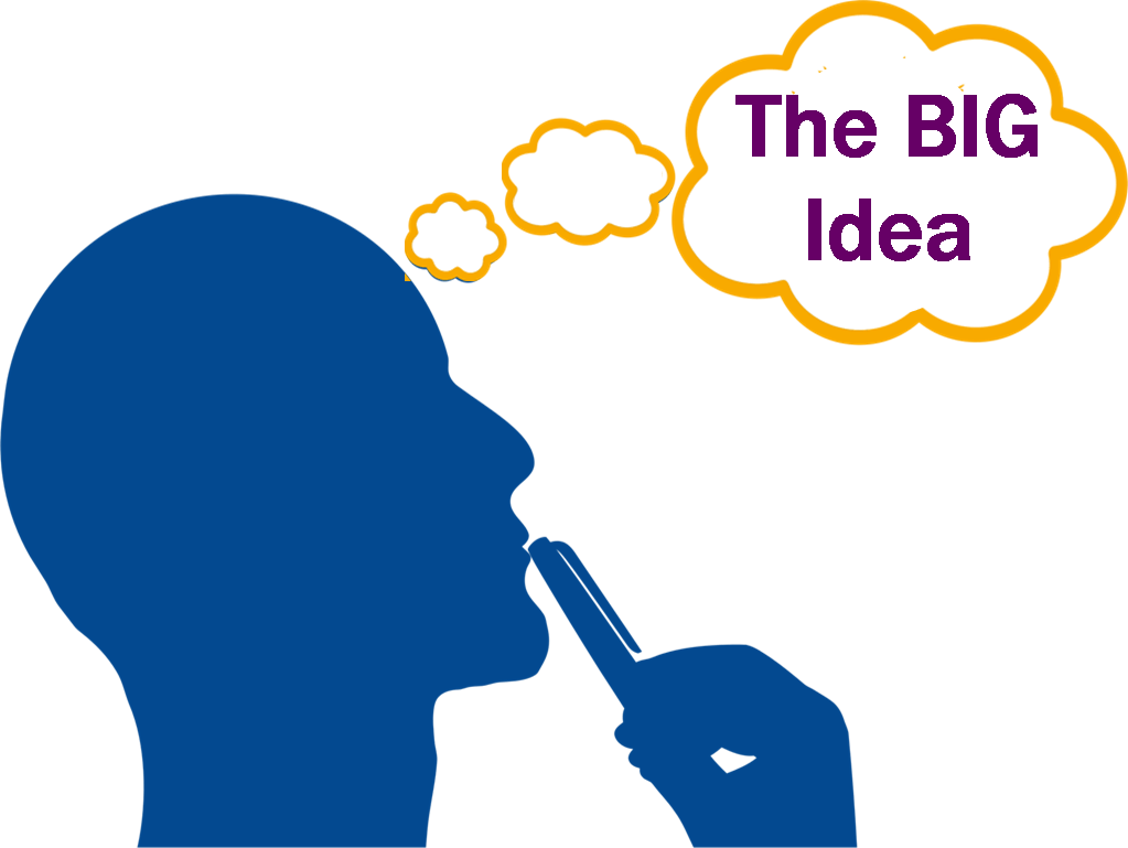 hight resolution of idea clipart big idea what s the