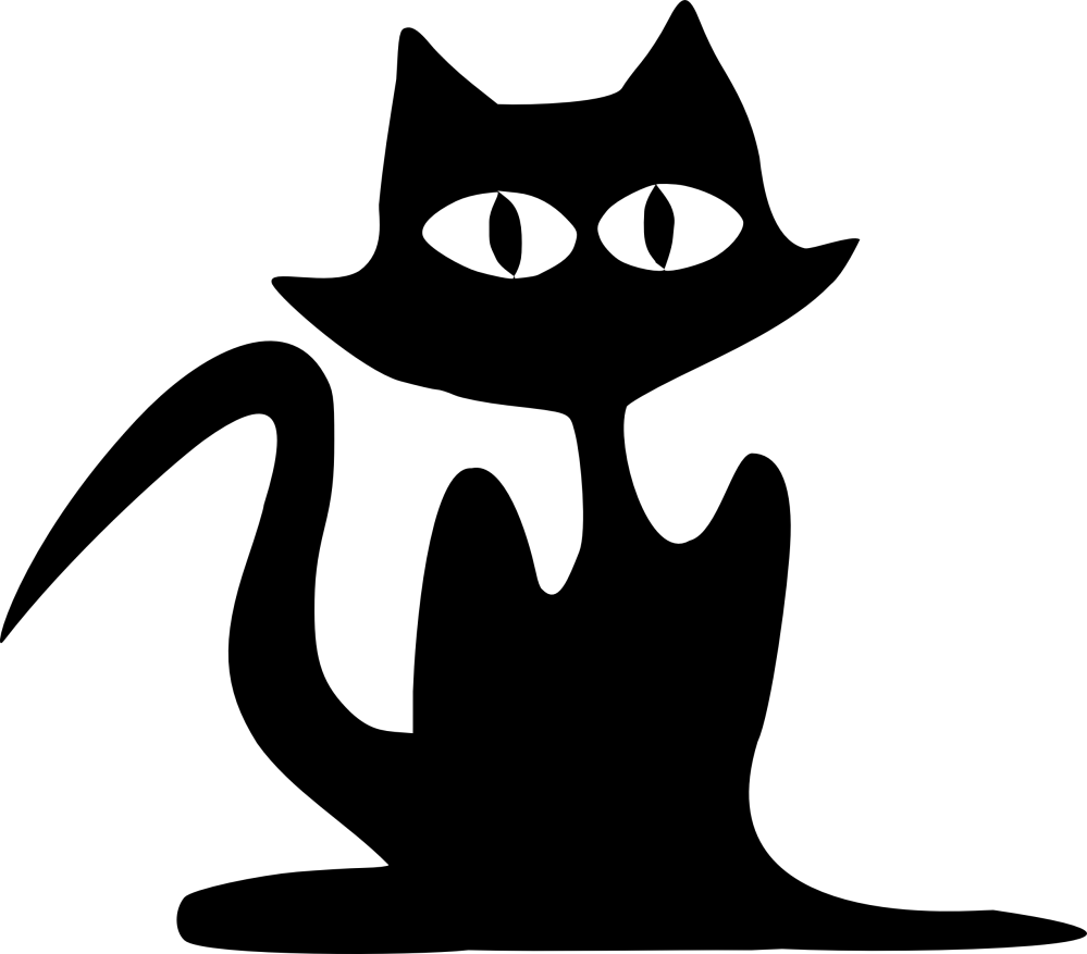 medium resolution of halloween clipart cat free images download clip