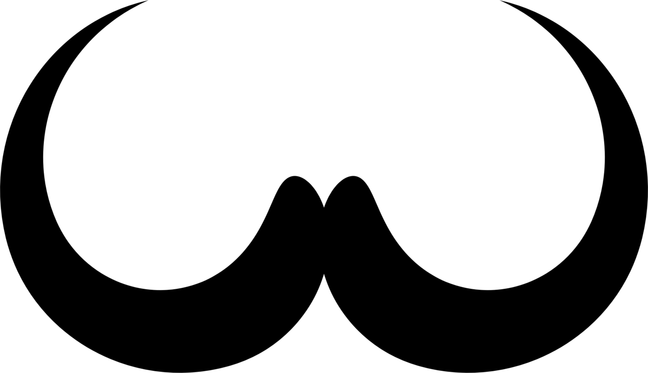 hight resolution of moustache clipart handlebar mustache silhouette beard hairstyle free