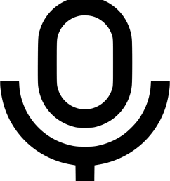 microphone clipart radio show mic multimedia off on [ 886 x 980 Pixel ]