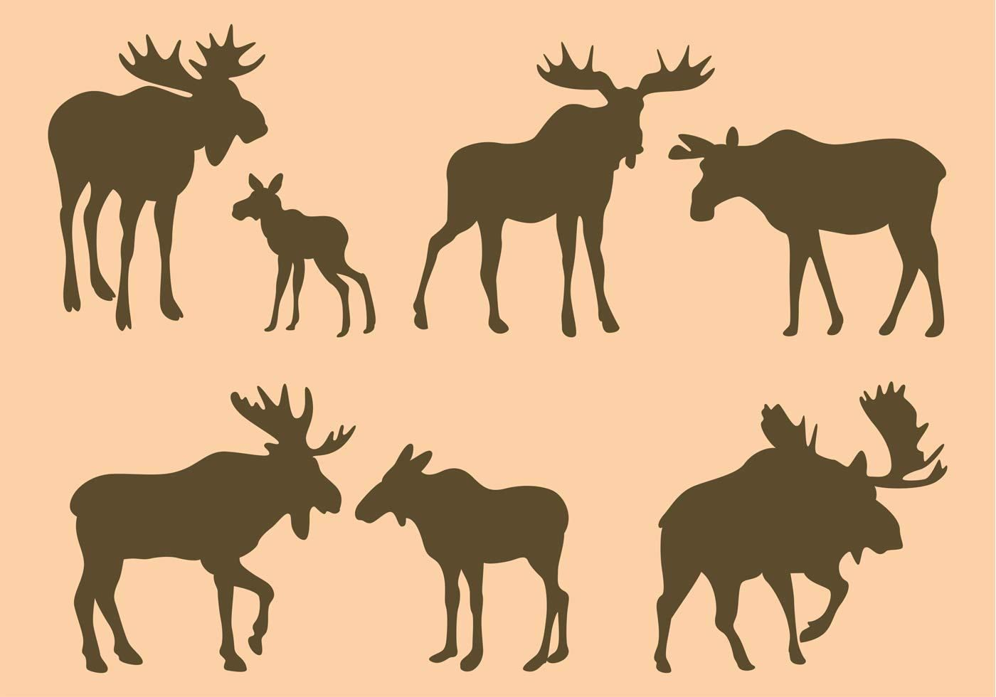 hight resolution of moose silhouette clip art google search graphics pinterest