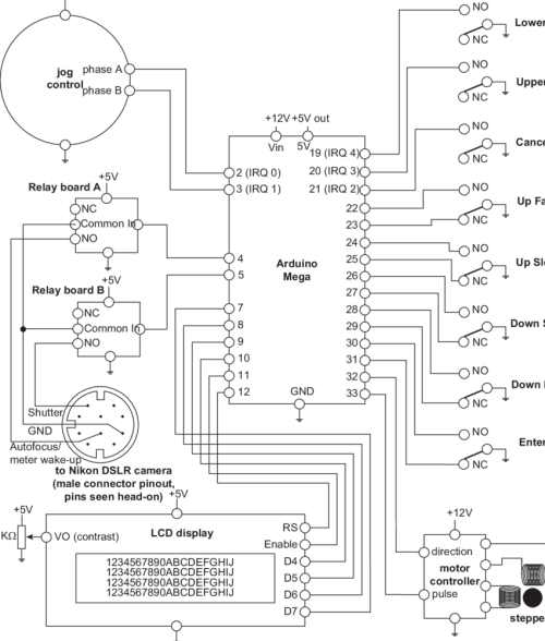 small resolution of block diagram of the stacker electronics numbers indicate logical