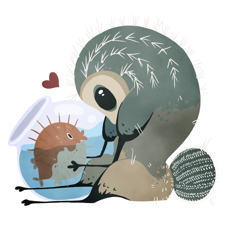 hight resolution of porcupine clipart spiky
