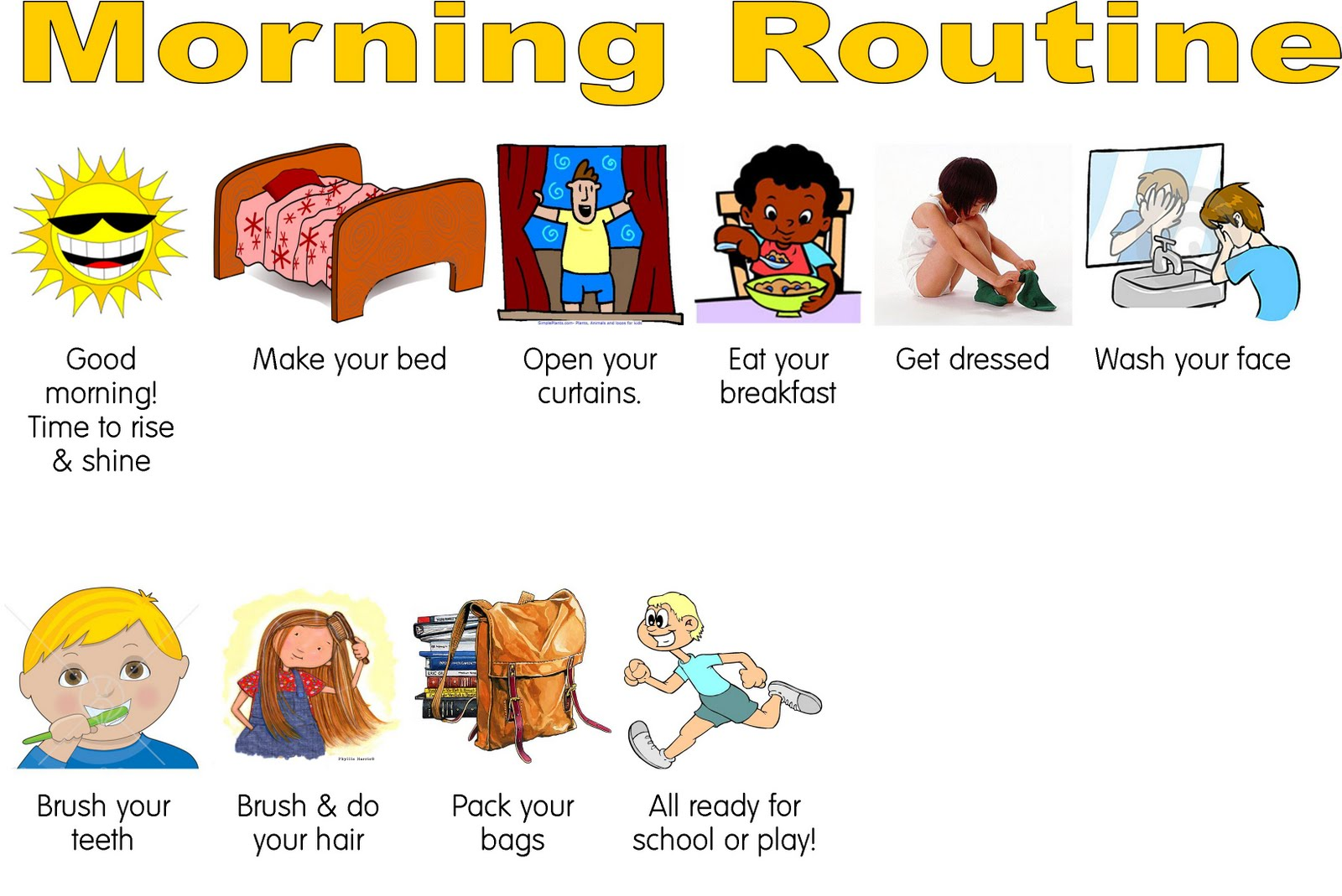 hight resolution of chore clipart morning chore routine tutordoctorwny a great