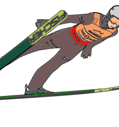 skiing clip winter olympic nordic combined ski poles [ 1125 x 750 Pixel ]