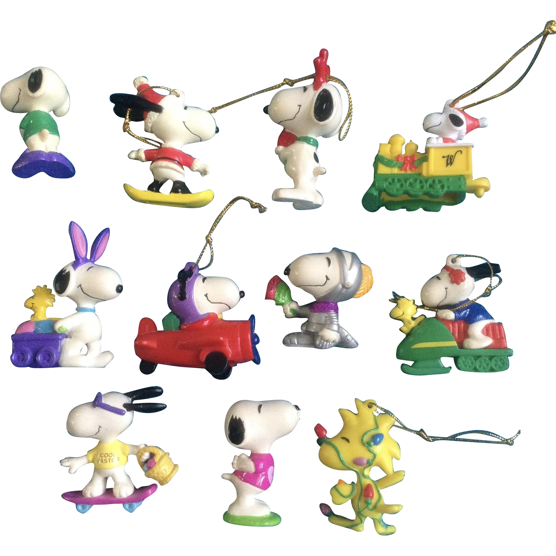 hight resolution of snoopy christmas png vintage woodstock peanuts rubber