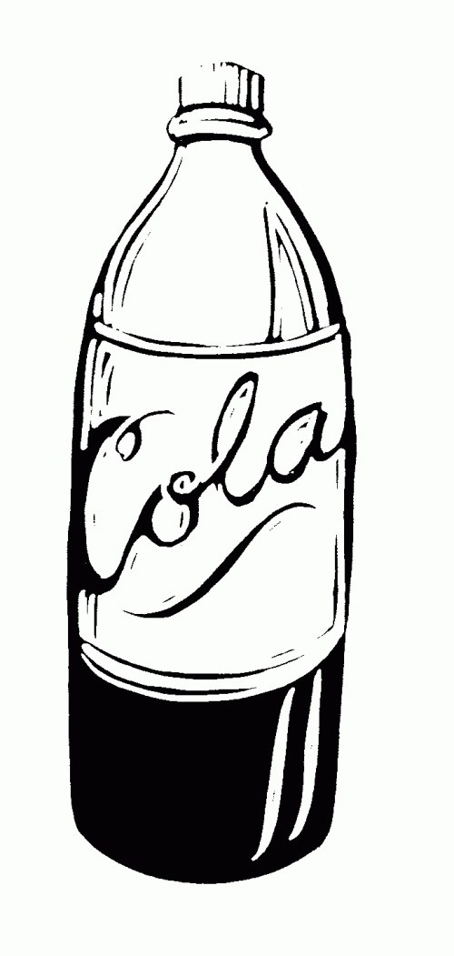 small resolution of best of soda bottle clipart black and white letter master