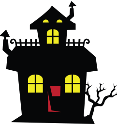 spooky clipart cool haunted mansion savoronmorehead house [ 1600 x 1600 Pixel ]