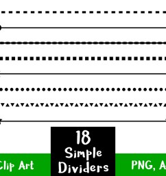 straight clipart divider line simple shape dividers [ 1160 x 772 Pixel ]