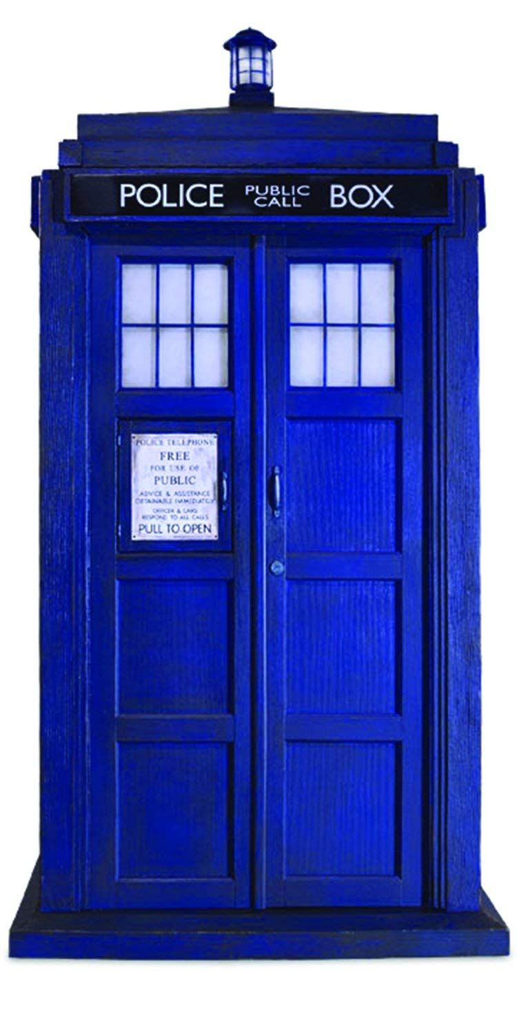hight resolution of doctor who bcdw0074 1 6 scale 10th doctor tardis replica amazon co