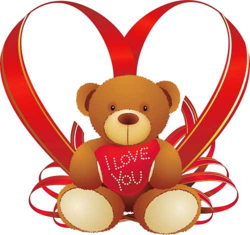 small resolution of teddy bear clipart png red heart with