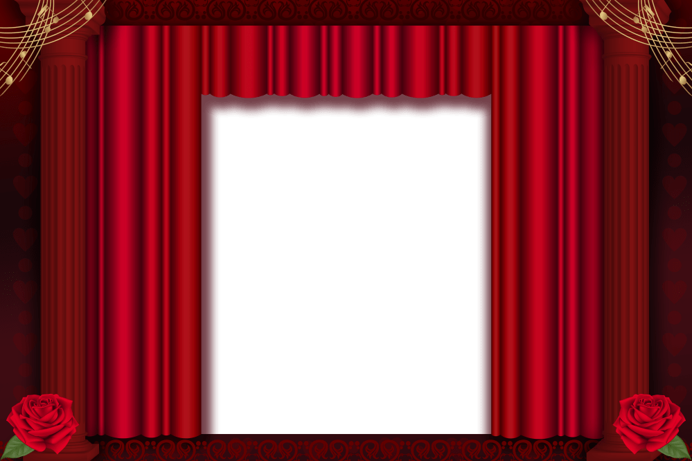 medium resolution of brown stage curtains png red transparent frame gallery