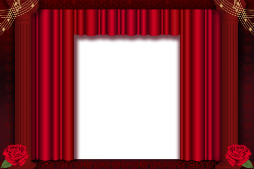 small resolution of brown stage curtains png red transparent frame gallery