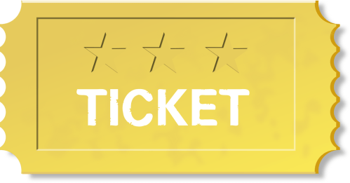small resolution of ticket clipart png paper train lottery free