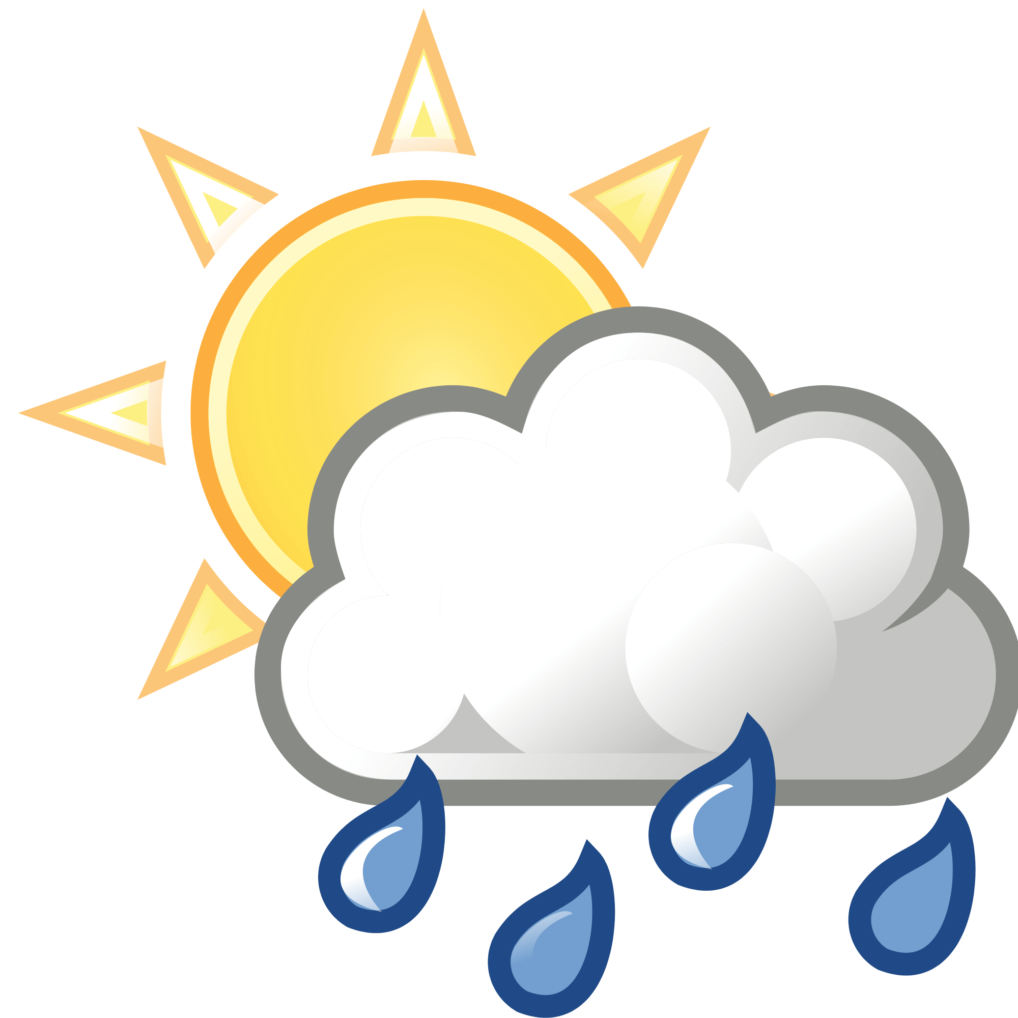 hight resolution of top clipart sun and clouds rain